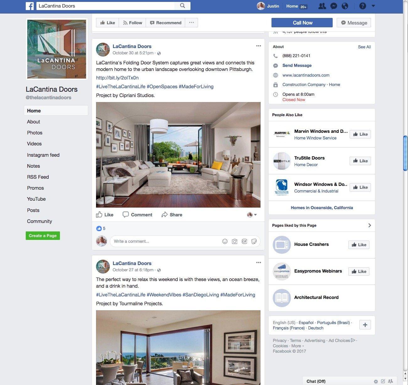 La Cantina Feature Facebook